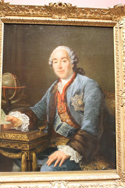 Франсуа Гюбер Друэ. «Портрет князя Голицина»