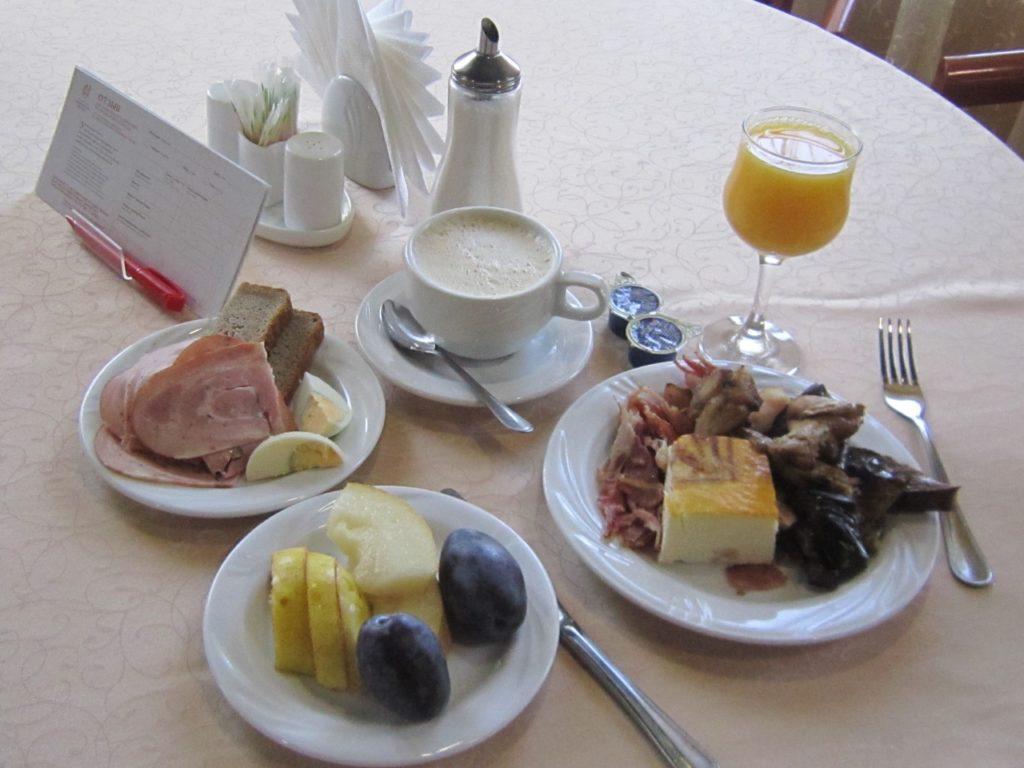 Завтрак Пушкарская слобода Суздаль отели