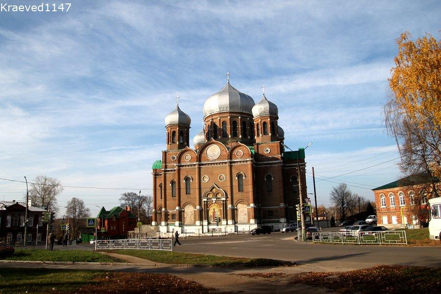 Мичуринск. Богоявленский собор