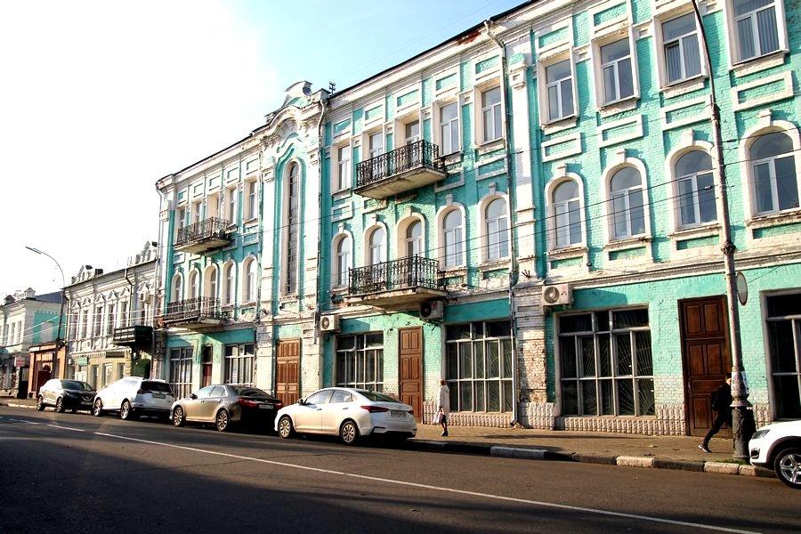 Мичуринск. Дом купца М.Н.Курьянова Педагогический университет