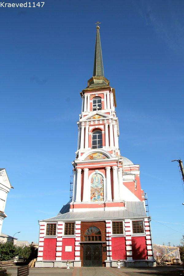 Колокольня Ильинской церкви