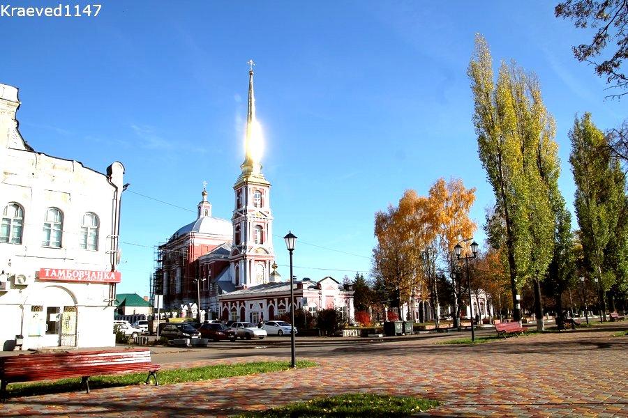 Ильинская церковь в Мичуринске