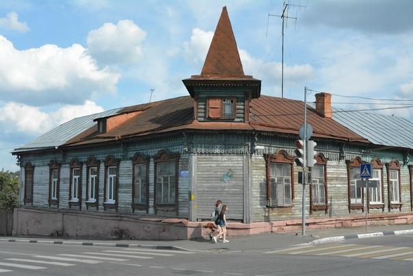 Серпухов. Деревянный дом