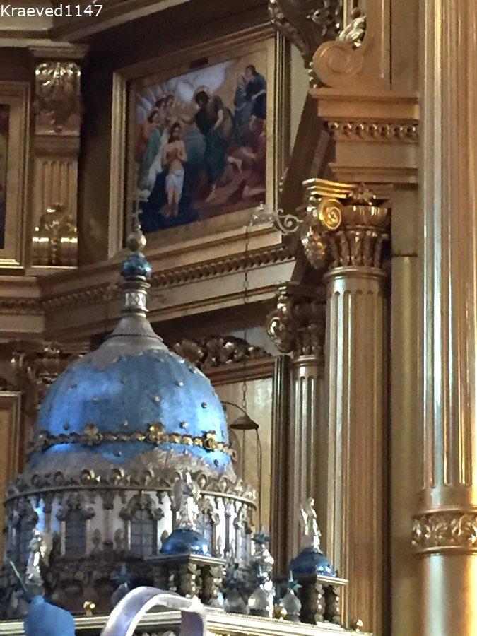 Интерьер церкви Николы Белого. Серпухов достопримечательности