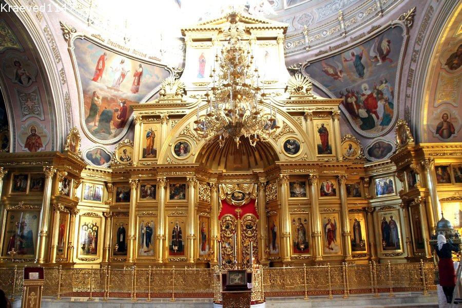 Иконостас церкви Николы Белого. Серпухов.