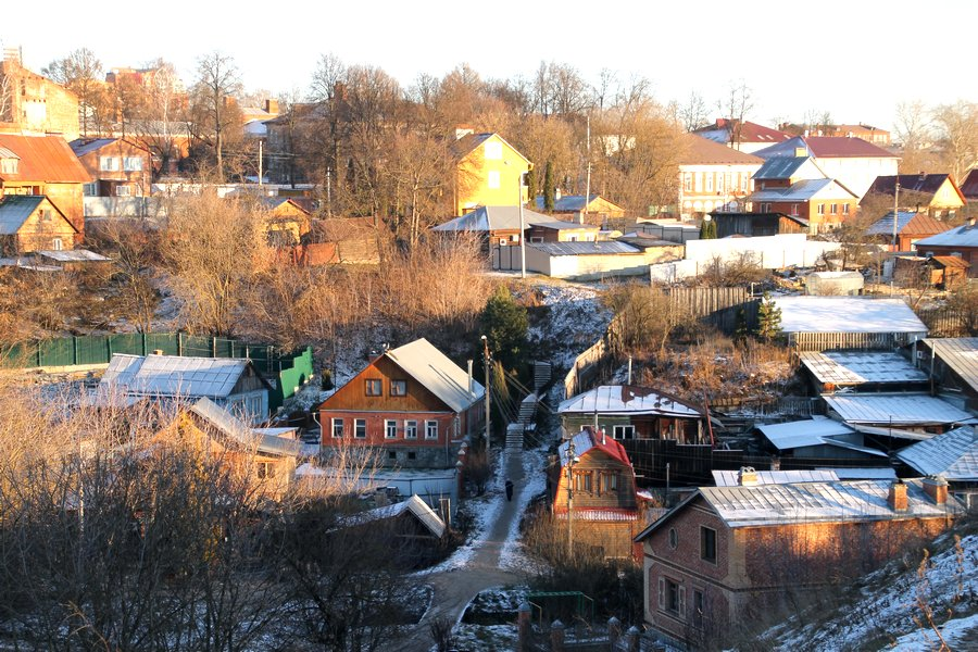 Серпухов. Вид с Красной горы