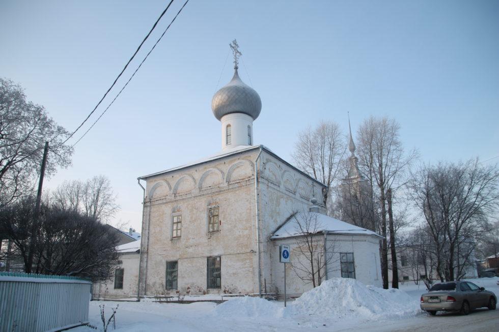 Вологда. Церковь Ильи Пророка в Каменье