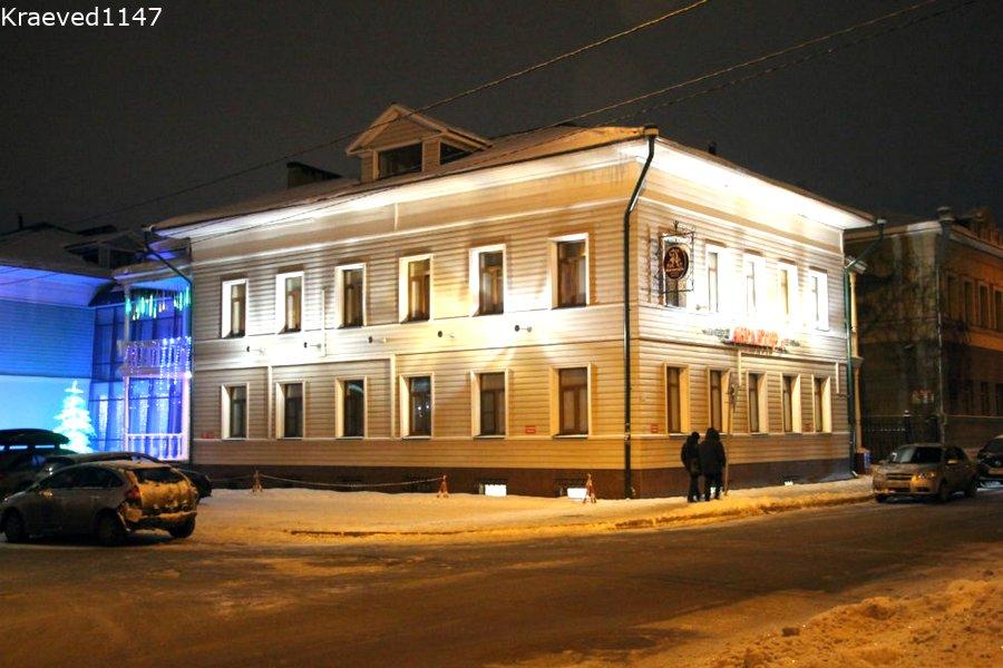 Вологда. Гостиница Англитер