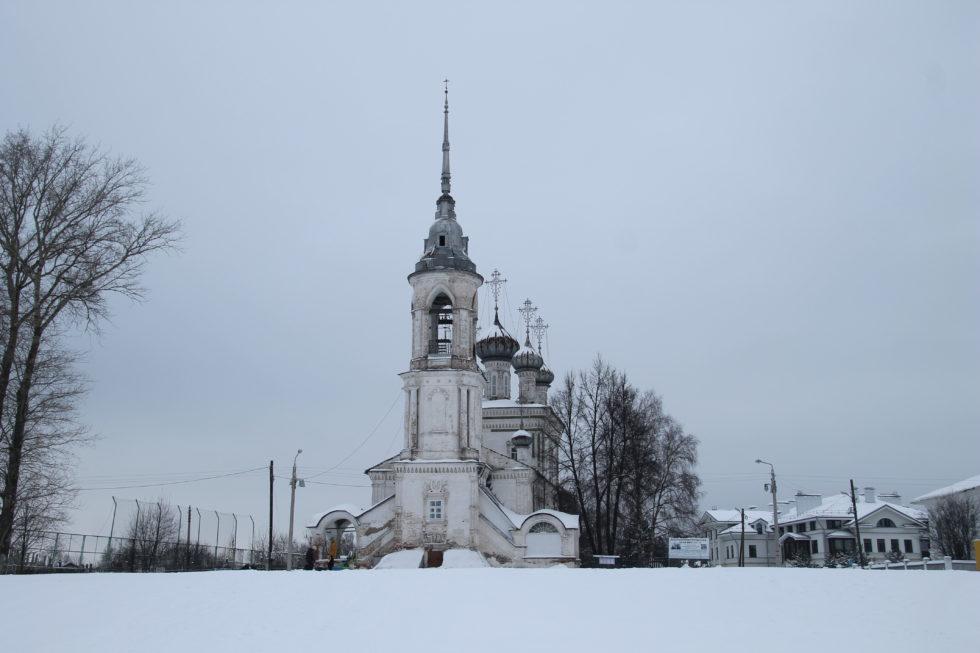 Вологда. Сретенская церковь