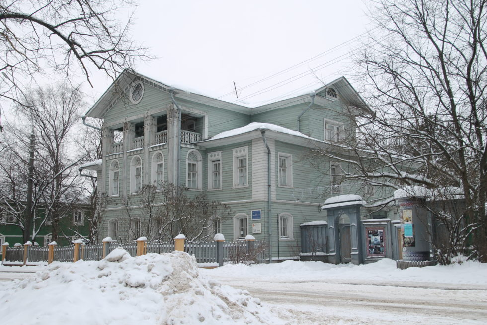 Новый год в Вологде. Мир забытых вещей