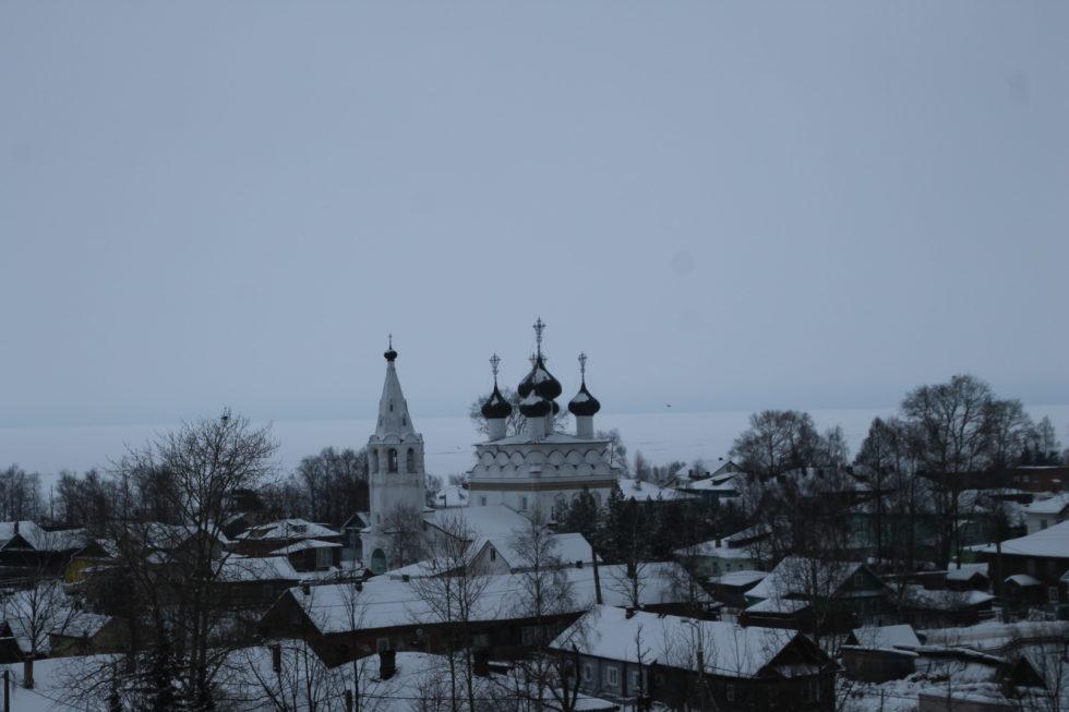 Белозерск. Церковь Спаса Всемилостивого
