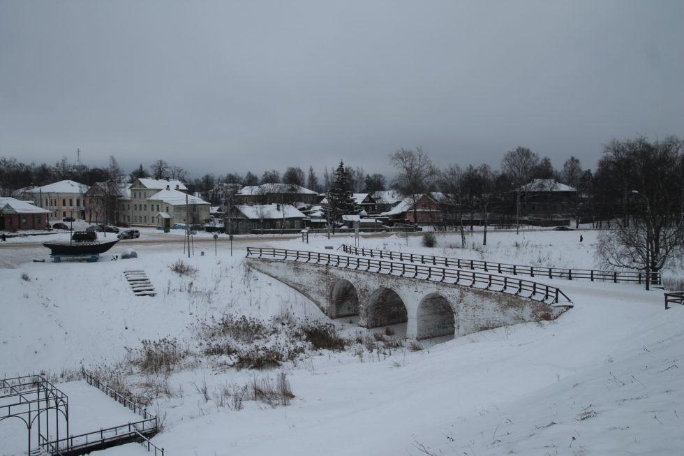 Белозерск. Каменный мост