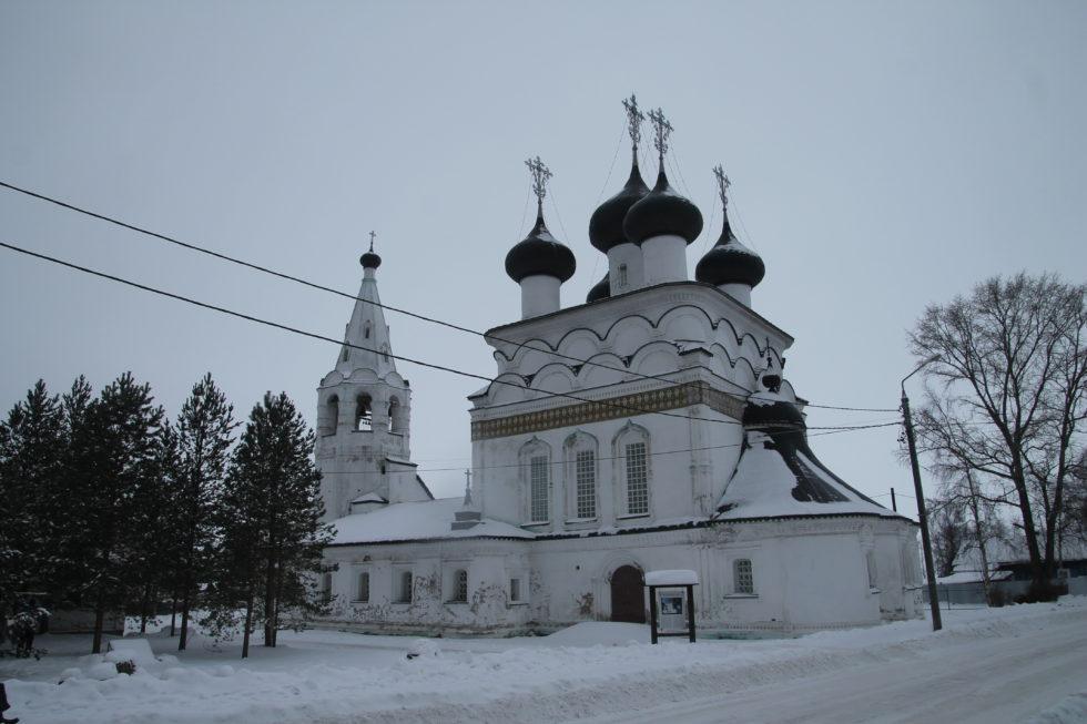 Белозерск. Церковь Всемилостивейшего Спаса