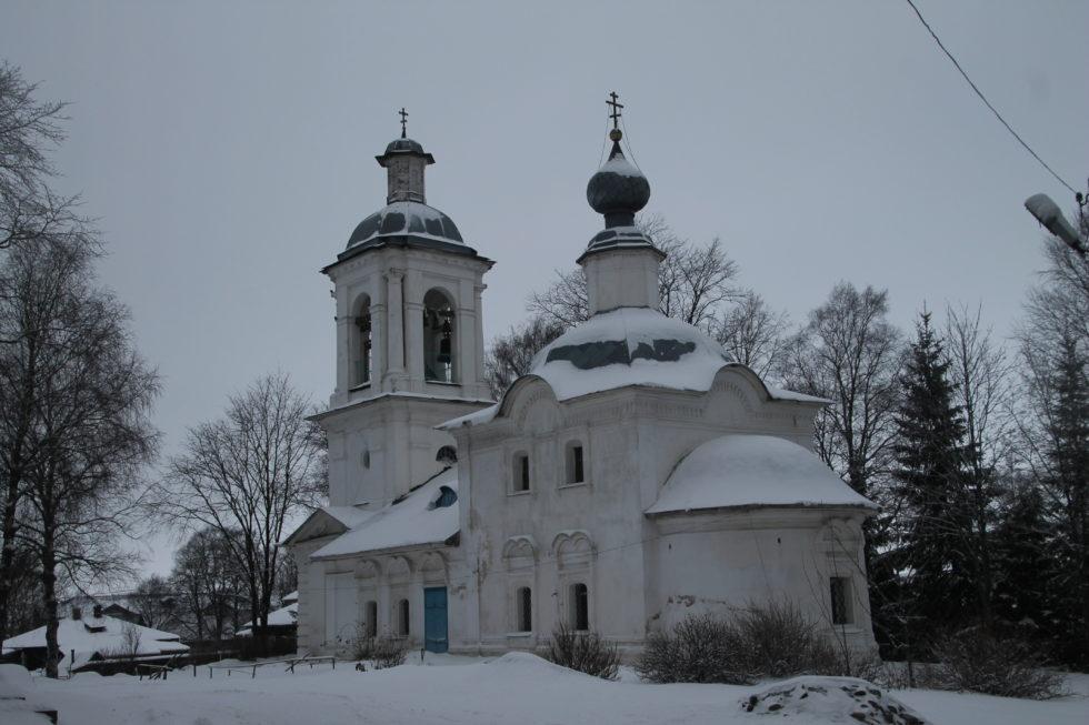Белозерск. Богоявленская церковь