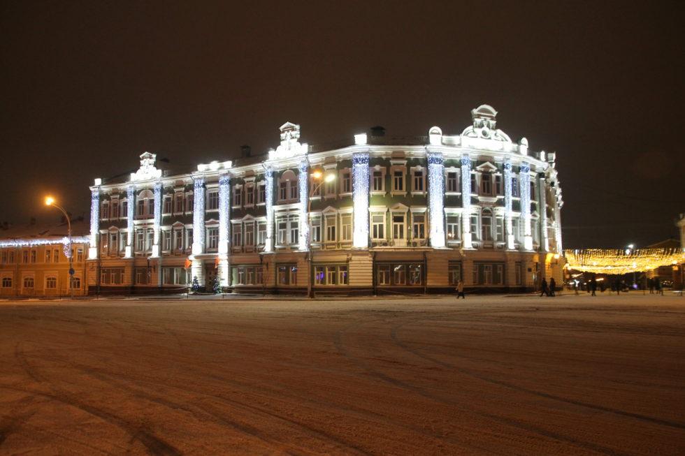 Новый год в Вологде. Гостиница Эрмитаж