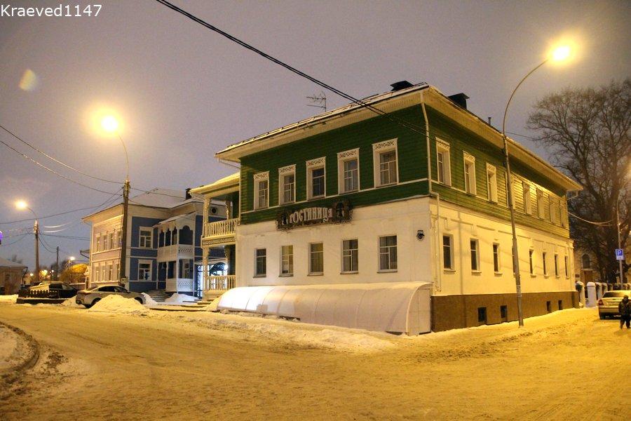 Вологда. Гостиница Палисад