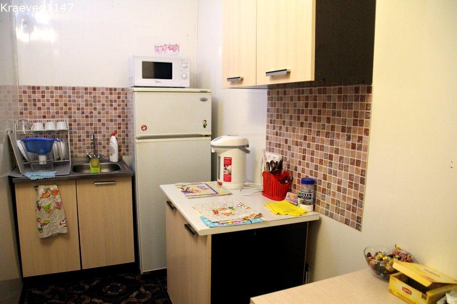 Кухонная комната в гостинице