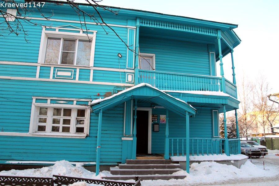 акварель гостиница. Вологда