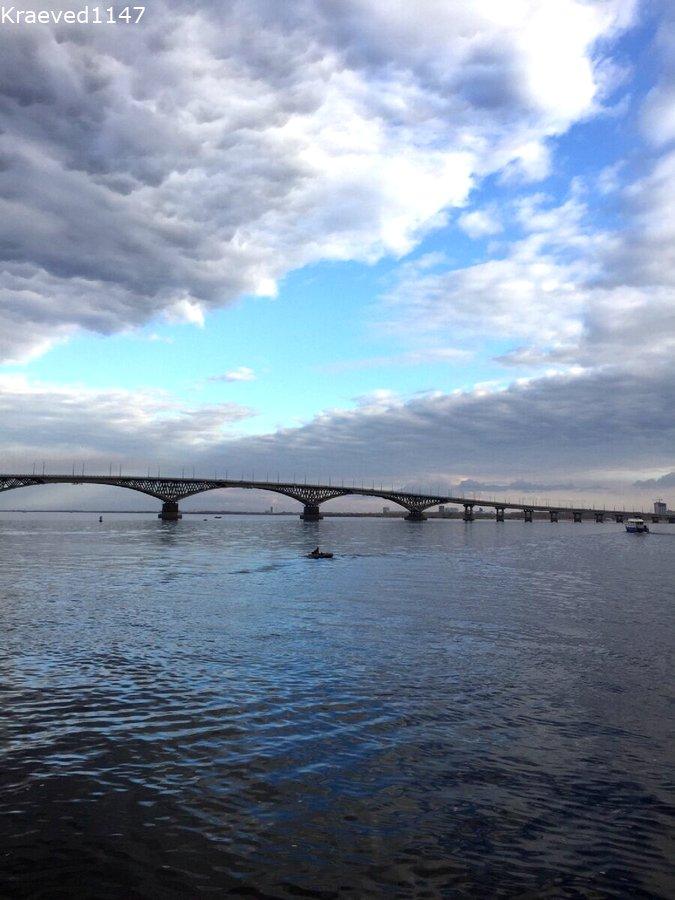 Волга. Что посмотреть в Саратове.